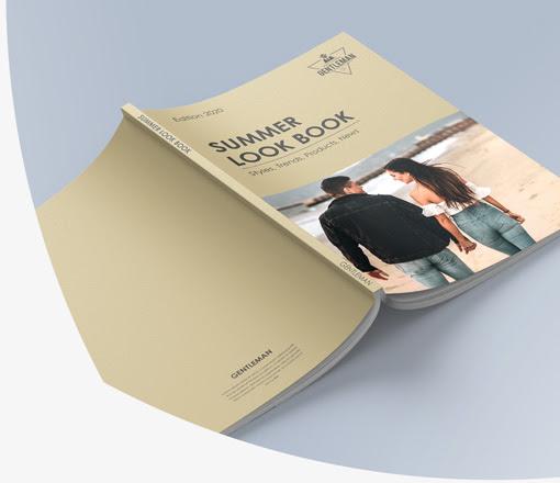 Brošure z lepljeno vezavo
