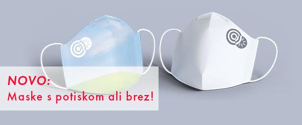 potisk zaščitnih mask