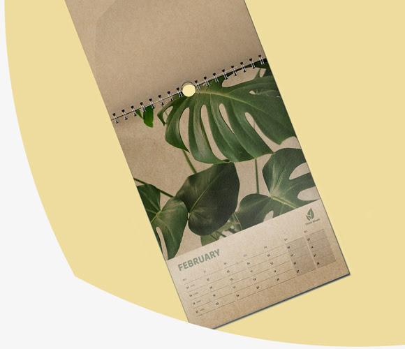 koledarji recikliran papir