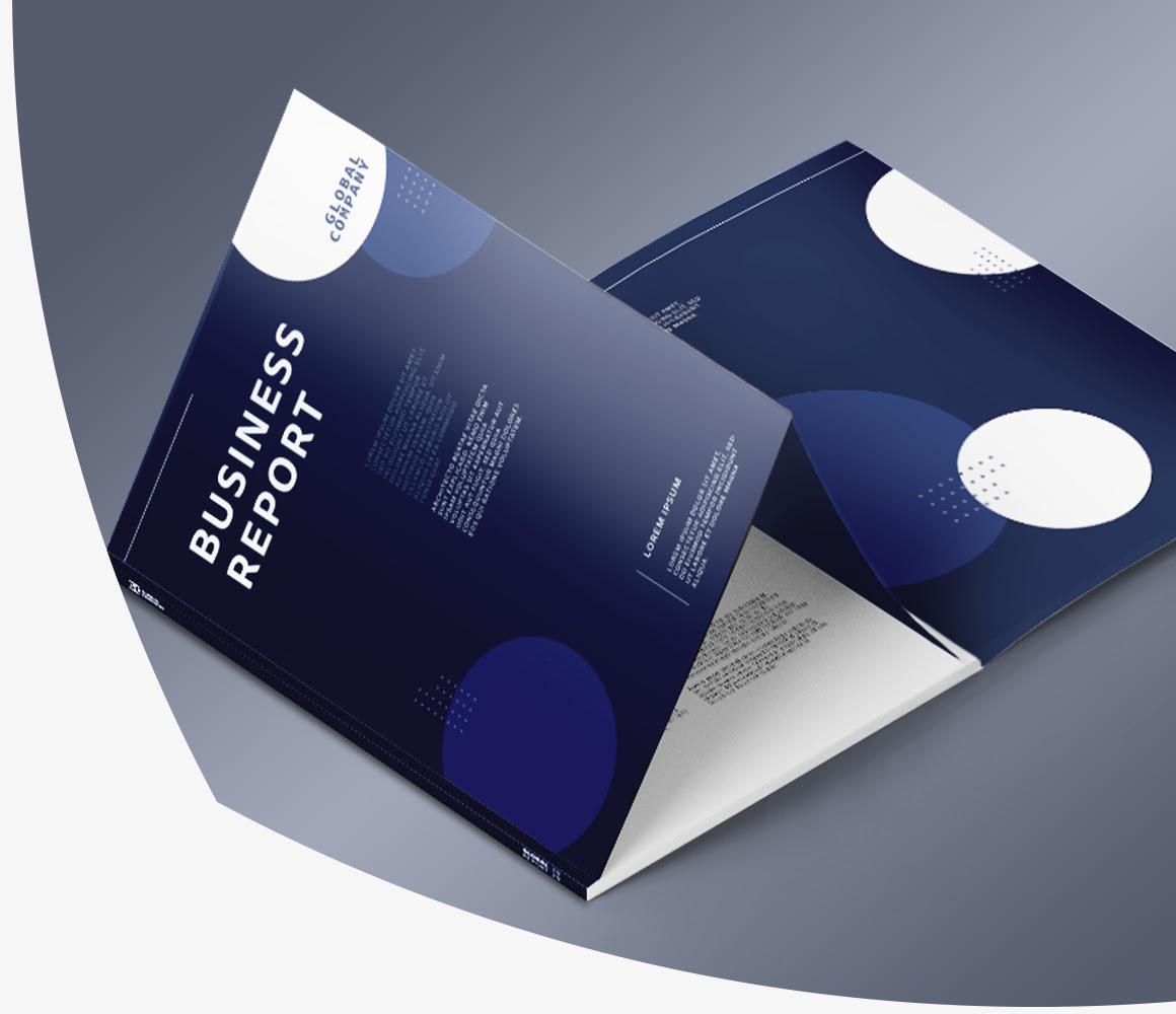 Lepljene brošure ugoden tisk