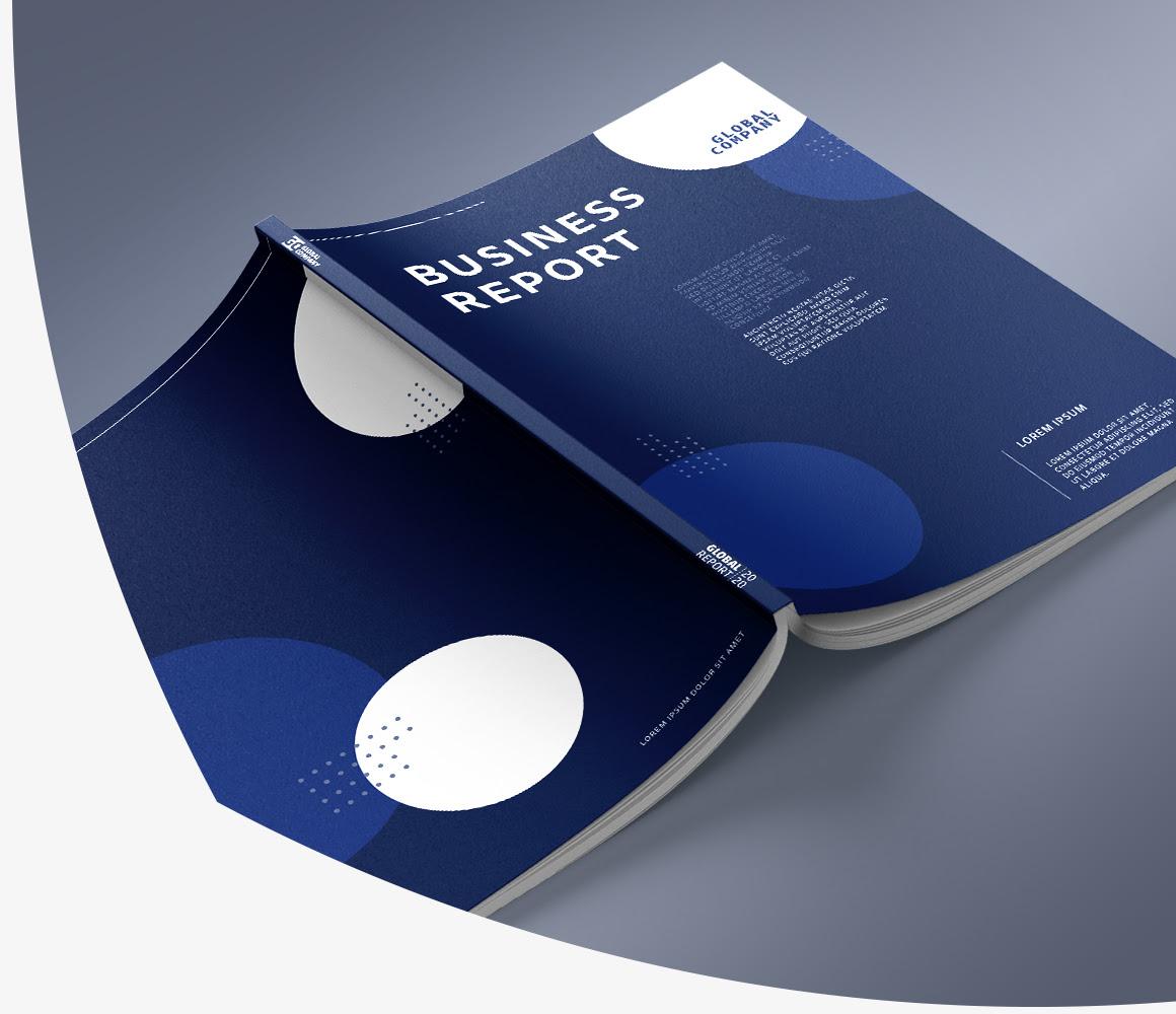 Lepljene brošure, ugoden tisk