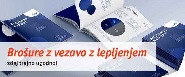 lepljene brošure