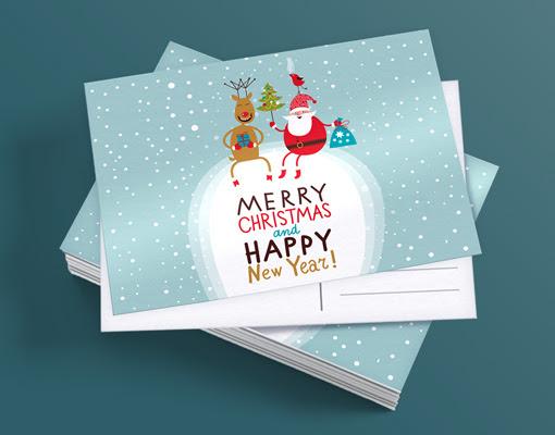 božične razglednice