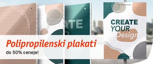 Tisk na PVC plošče - do 50 % ceneje!