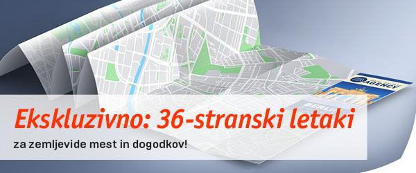tisk zemljevidov