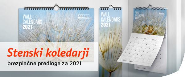ugoden tisk koledarjev