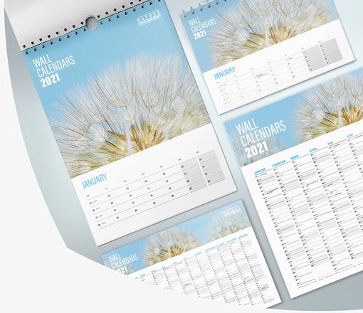 tisk koledarjev
