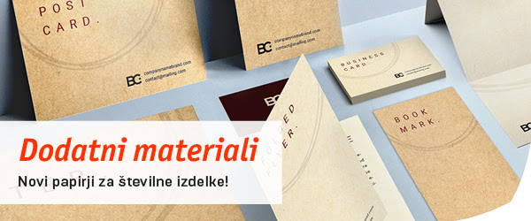 tiskovine na recikliranem papirju